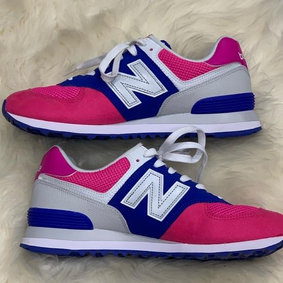 Balance 574 Pink Blue